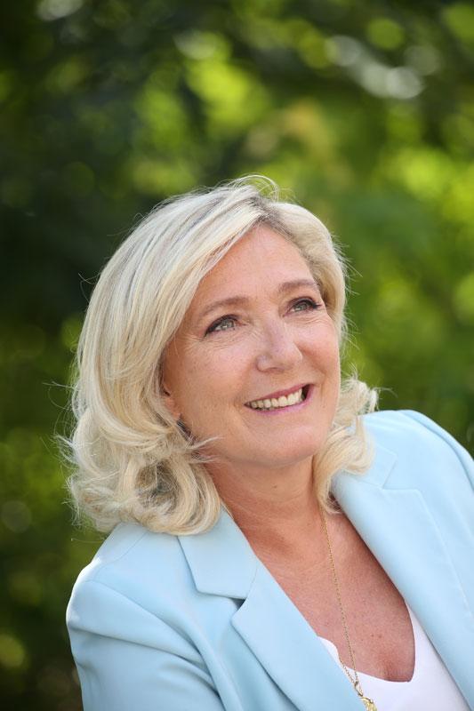 Soutenez la candidature de Marine Le Pen